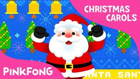 santa christmas carols pinkfong songs for children - Super Simple Christmas Songs